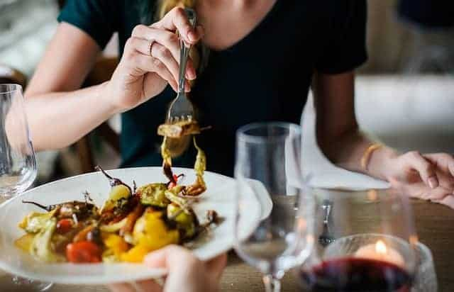10. Jantar – presente para namorados