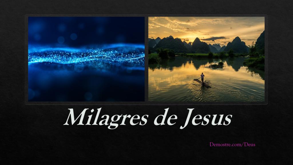 Milagres de Jesus CAPA