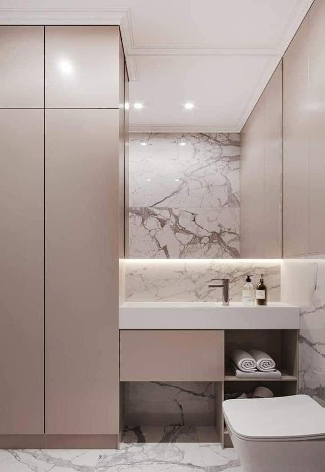Banheiros modernos para se inspirar