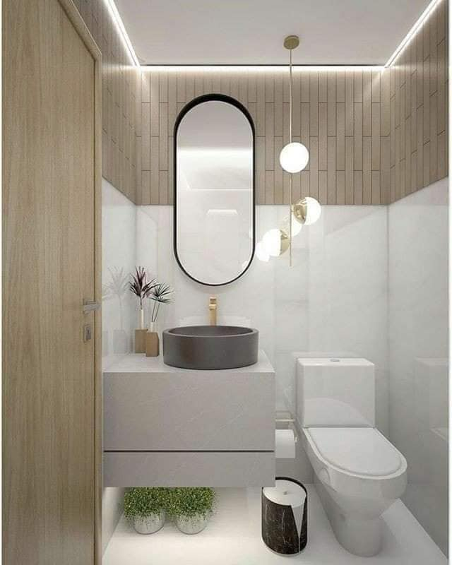 Banheiros modernos para se inspirar!!