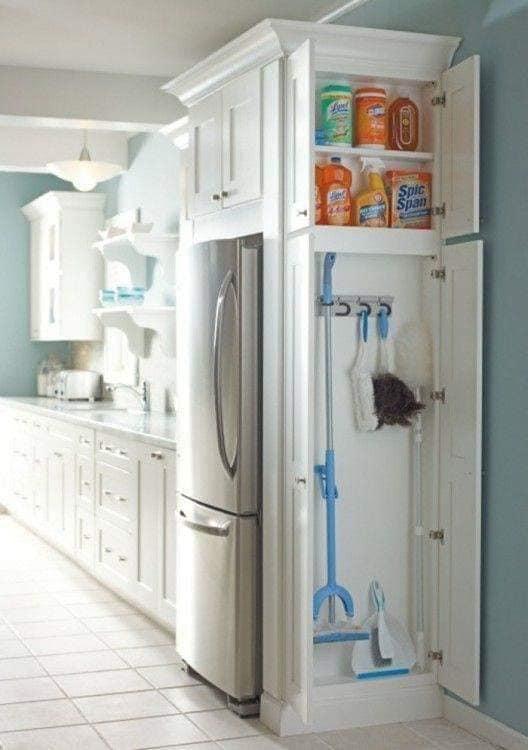 Ideias para aproveitar o espaço na área da geladeira!