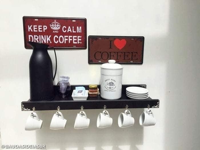 Cantinhos maravilhosos para o café