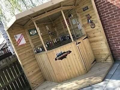 Ideias para ter um mini bar em nosso quintal