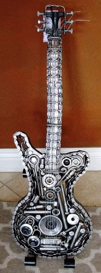 Lindas artes em metal que você vai adorar!
