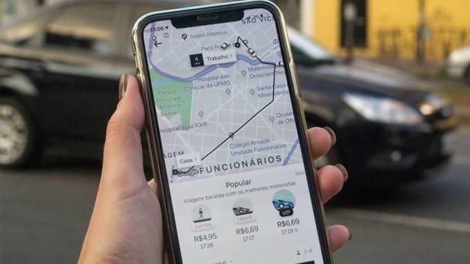 Como adicionar parada no uber